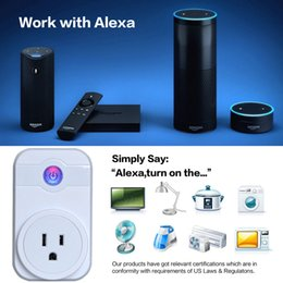 $enCountryForm.capitalKeyWord Canada - Smart Power Plug Wifi Sockets Remote Control by IOS Android Phone Timing Switch EU US UK Smart Socket Compatible with Alex Google Home