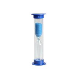 Vente en gros 1/2/3 min. Couleur aléatoire Sablier Sablier Sable Cuire Horloge Minuterie Décoration de la maison Livraison gratuite QW8642
