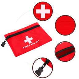 Discount car emergency bag Waterproof Travel Kit First Aid Kit Medical Bag Mini Outdoor Camping Travel Car First Aid Kit Box Emergency Survival Gea