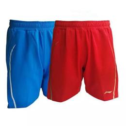 Горячие бадминтон теннисные виды спорта шорты новый пот - мужчина / женщина работает фитнес-комфорт Брюки Черный / синий / красный / M-XXXXL