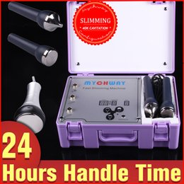 Spa Salon Ultrasonic Machines Canada - Face Eyes Health Care Cellulite Removal 2in1 Ultrasonic Suction Cavitation Face Slimming Machine For Home Salon SPA