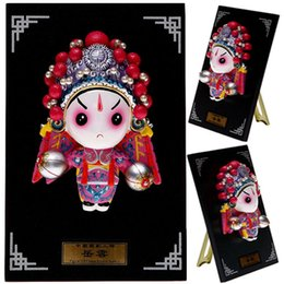 $enCountryForm.capitalKeyWord Canada - Cartoon Figurine - plate Yue opera character mask Home Furnishing pendant ornaments holiday birthday gift ideas
