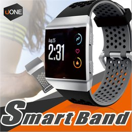 lightweight watches 2019 - For Fitbit Ionic band watchbands Lightweight Ventilate Silicone Perforated Accessory Sport Bands for Fitbit Ionic dual c