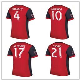 2399f2617 ... Toronto FC Soccer jersey Thai quality 2017 BRADLEY GIOVINCO OSORIO ALTIDORE  jersey 1718 MLS Toronto home ...