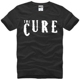 $enCountryForm.capitalKeyWord NZ - New Summer The Cure T Shirts Men Cotton Short Sleeve O-Neck Printed Rock Roll Men's T-Shirt Fashion Male Rock Punk Tops Tees Hot