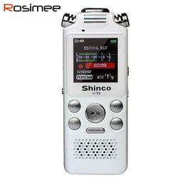 Hidden Hd Pen Australia - Wholesale-Shinco v59 x9 Recorder Hidden Digital Audio Sound Voice Recorder Pen Professional Dictaphone HD MP3 Player 8G Espia Gravador