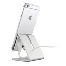Discount tablet ebook - 2017 Universal Aluminum Metal Mobile Phone Tablet Desk Holder Stand for iPhone 7   7 Plus 6s 6 5s 5 Cellphone for Kindle
