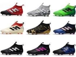 Summer Soft breathable ShoeS online shopping - Drop shipping ACE PureControl FG Soccer shoes NEW arrival Men s Soccer boots cheap Performance Male ace soccer cleats football shoes
