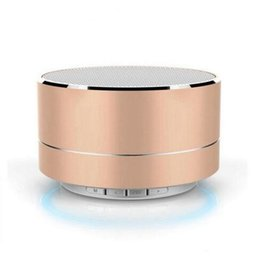 $enCountryForm.capitalKeyWord UK - USB Bluetooth Speaker Mini Metal Speaker Portable Mobile Phone USB Speakers Gift MP3 Subwoofer Computer Blue Tooth Music A10 Outdoor Pill