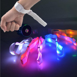 Glow Party Decorations Canada - Sound Activated LED Glow Bracelet Light Up Glowing Wristband for Concerts Party Bars Culb Night Event Decoration ZA3383