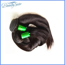 Hair Extensions India Australia - Beautysister hair products wholesale 8a indian human hair bundles 1kg 10pieces lot india virgin hair extensions natural black color