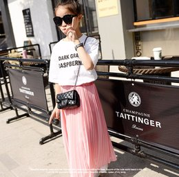 girls pleated skirts NZ - Kids Girls Pleated Chiffon Long Skirts 2017 New Summer Children Hem Skirts for Girls Bohemian Skirt Black Pink White Maxi Skirts