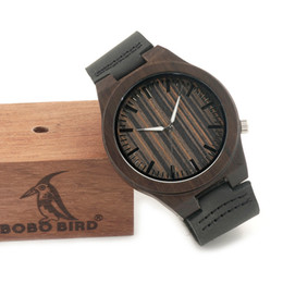 $enCountryForm.capitalKeyWord NZ - BOBO BIRD B13 Wooden Watches Fashion Casual Mens Wristwatches with Small White Needles in Dial Face with Paper Gift Box for Men