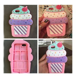 Ice cream soft case Iphone 5s online shopping - Case For iPhone Plus Silicone D mineral water Love Popsicles ice cream Soft iphone s plus s