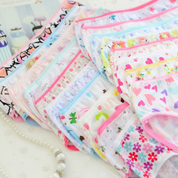 girl boxers shorts NZ - Free Shipping 120pcs New Fashion New Baby Girls Soft Underwear Cotton Panties for Girls Kids Short Briefs Children Underpants