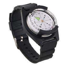Qualitäts-taktisches Handgelenk Compasses Militärim freienüberlebens-Bügel-Band-Armband geben Verschiffen frei im Angebot