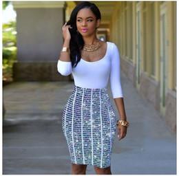 Women Sexy Club Dress 2017 Half Sleeve Spring Summer African Print Shinning Club  Wear Female Pencil Dress Slim Hip Bandage Bodycon Vestidos 05f34bd26
