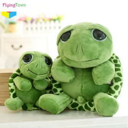 big plush turtles NZ - 60cm Super Cute Turtle Tortoise Doll with Big Eyes Stitch Plush Toys Girls Kids Turtle Toy Gift For Children's Birthday