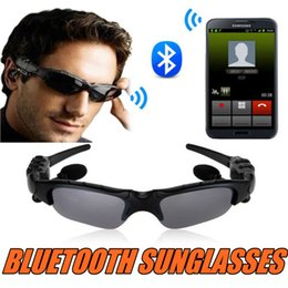 Discount sunglasses headset headphone - Sunglasses Bluetooth Headset Wireless Sports Headphone Sun glasses Stereo Handsfree Earphones For Iphone Samsung HTC