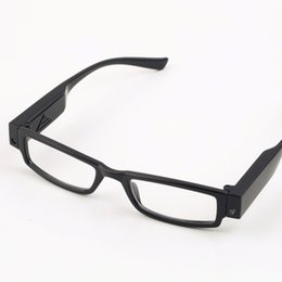 multi strength led reading glasses eyeglass spectacle diopter magnifier light up hot selling