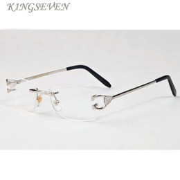 Rimless Shield Canada - 2017 Brand Designer Oversized Rimless Sunglasses for Men and Women Unique Style Clear Lens Sunglasses Metal Frame Gafas De Sol