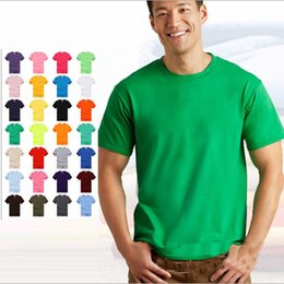 $enCountryForm.capitalKeyWord Canada - Wholesale S-3XL Hot Sale 100% cotton T-shirt Men O-neck Short Sleeve Solid T Shirts Summer Clothing For Man