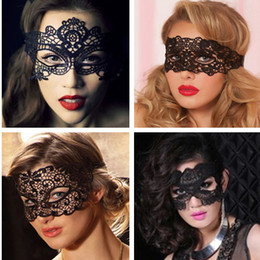 mixing mask set Canada - girl jewelry Million Black Lace Princess Christmas Mask Masquerade Party show female taste half face mask nightclub