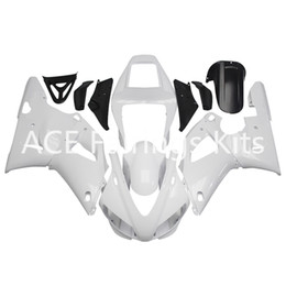 China 3 free gifts Complete Fairings For Yamaha YZF 1000-YZF-R1-98-99 YZF-R1-1998-1999 Motorcycle Full Fairing Kit White Black style v29 suppliers