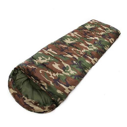 $enCountryForm.capitalKeyWord Canada - New Outdoor Camouflage Camping Hiking Sleeping Bag Camp Training Summer Soldiers sleep bag Mummy Type for 2.0 m Height