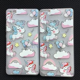 Phone G6 Canada - Cell Phone case Accessories Unicorn TPU Raw Materials For LG G6 Phone case LG K10 2017 Cover Cases Colorful Horse Free DHL