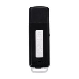 Discount pen drive 8gb - Wholesale-2016 Hot Sale 2 in 1 Mini 8GB USB Pen Flash Drive Disk Digital Audio Voice Recorder 70 Hours Portable Mini Rec