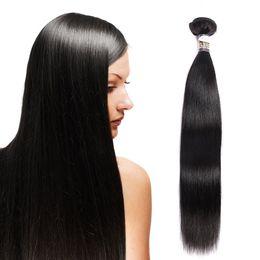 Cheap virgin remy hair bundles online shopping - Badshop A Malaysian Virgin Straight Hair OR Bundles Malaysian Silky Straight Remy Hair Cheap Human Hair Bundles Natural Black