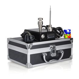 $enCountryForm.capitalKeyWord NZ - Electric Mini E Dab Nail Dabber Nail Box Kit Titanium Nail Carb Cap Dry Herb Electronic Temperature Controller Box fit to Rig glass Bongs