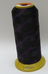 Professional Hair Weave UK - Wholesale-1PCS Black Weaving Threads for machine weft hair extension professional hair accessories & Tools 4 types weaving needle as gift