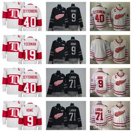 e7c2c1bc2 Stitched NHL Jersey 2017 Detroit Red Wings Ice Hockey Jerseys 40 Henrik  Zetterberg ...