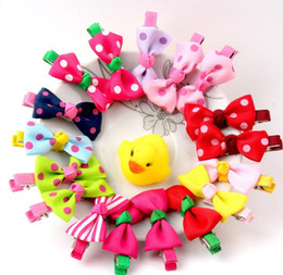 cute hair accessories for children 2019 - NEW girls Children Cute cloth cartoon hairpin BB clip Christmas gift hair accessories for girls 6 cheap cute hair access