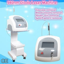 Machine Laser Veine Pas Cher-Portable araignée veines enlèvement machine 980nm vasculaire laser machine maison diode laser professionnel peau tag removal machine