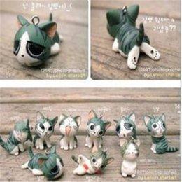Bonito Anel Chave Japonesa Queijo Maneki Neko Gato Móvel Chaveiro Sorte Gato Telefone Celular Encantos Enforcamentos Acessórios para Telefone Chaveiros DHL Livre