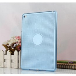 Wholesale quot quot Hot Sale Diamond Pattern Shining Tablet Case for ipad mini air pro Slim TPU Translucent Cover Case