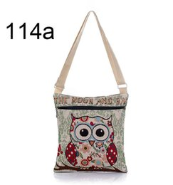 $enCountryForm.capitalKeyWord Canada - Cartoon Owl Printed Canvas Crossbody Shoulder Bags Summer Casual Women Messenger Bags Female Small Crossbody Bag