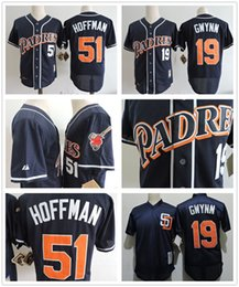 a31f37b0de8 ... 2017 51 trevor hoffman 19 tony gwynn retro 1998 san diego padres mens  throwback baseball jerseys .
