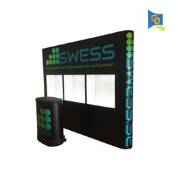 Wholesale New Product ft Variety Exhibition Display Stand Trade show Exhibition Booth Advertising Display Exhibiton Advertising with Show Window