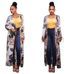 Longéo Pas Cher-Femmes Kimono Cardigan Robe longue Vintage Leaf Print Plus Size Casual Shirt Dress Sexy Sundress Wrap Summer Long Sleeve Beach Pareo Vestidos