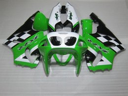 $enCountryForm.capitalKeyWord NZ - Bodywork Fairing kit for Kawasaki Ninja ZX7R 96 97 98 99 00 01 02 03 green white black fairings set ZX7R 1996-2003 OY07