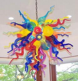 $enCountryForm.capitalKeyWord NZ - Pretty Led Pendant Light Modern Home Decorations Edison Lamps 100% Mouth Blown Borosilicate Multicolor Hand Blown Glass Chandelier Lighting