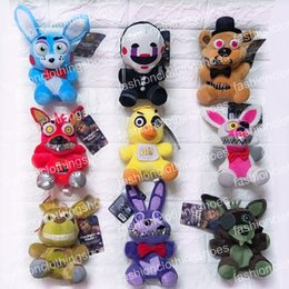 Plush Toys Specials Canada - 2017 New Arrival 9 Style 15-18cm Five Nights at Freddy Freddy's Special Style Kids juguetes Figure Plush Puppets Toys akye