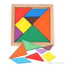 $enCountryForm.capitalKeyWord Canada - Wooden Tangram 7 Piece Jigsaw Puzzle Colorful Square IQ Game Brain Teaser Intelligent Educational Toys for Kids