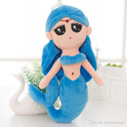 $enCountryForm.capitalKeyWord Canada - 1Pc 30cm Baby Beautiful Lovely Soft Stuffed Plush Little Mermaid Dolls with Curved Tail Kids Toys for Girl Child Christmas Gifts