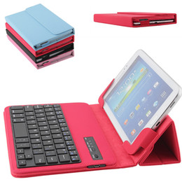 $enCountryForm.capitalKeyWord NZ - New Universal Bluetooth Keyboard Case For Apple iPad 7-10 inch Samsung S6 S7 Edge Colorful Tablet Leather PC Cover Holder Ultra Slim
