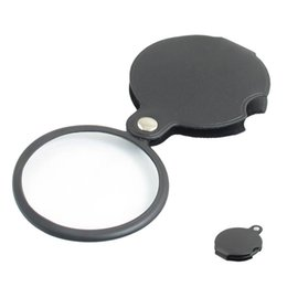 $enCountryForm.capitalKeyWord Australia - Portable Microscope Magnifier Loupe 60mm 50mm Diameter 5X Round Magnifying Glass MG86034 w Black Cover